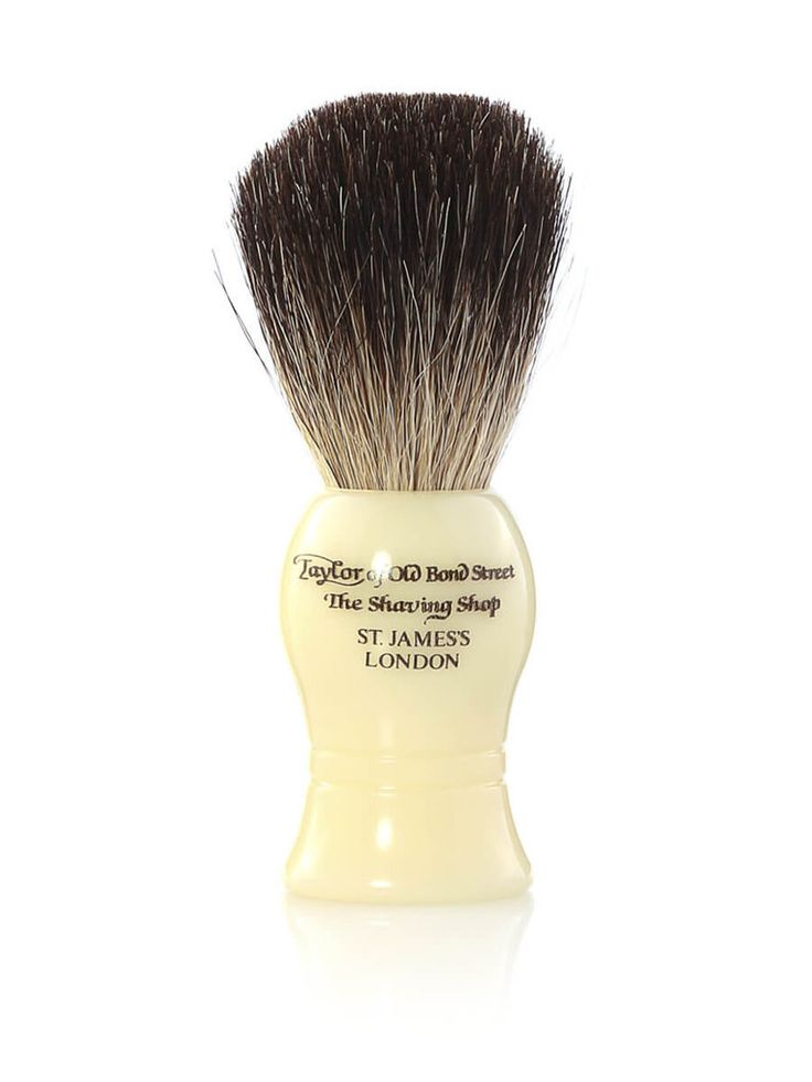 Taylor of Old Bond Street Pure Badger Brush Ivory Medium