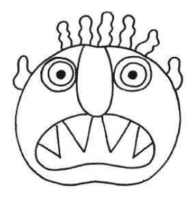 mis à jour sur http://chezcamille.eklablog.com/va-t-en-grand-monstre-vert-a108981802 Présentation de Pascale Wester Pour faire apparaître le grand monstre vert, il suffit de tourner les pages : un jeu de découpages fait surgir le visage en commençant...