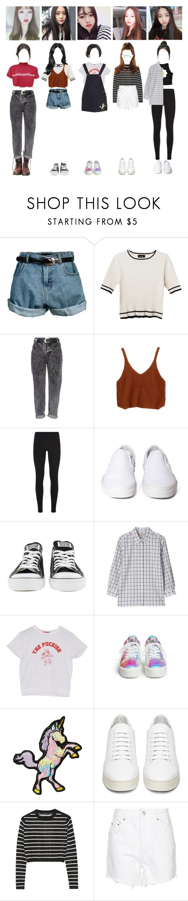"""Alpha:bet Girls : Highlight Maker Audition"" by blackheart-redtears ❤ liked on Polyvore featuring Retrò, Monki, River Island, NIKE, Vans, Converse, Margaret Howell, Stoney Clover Lane, Off-White and TIBI"