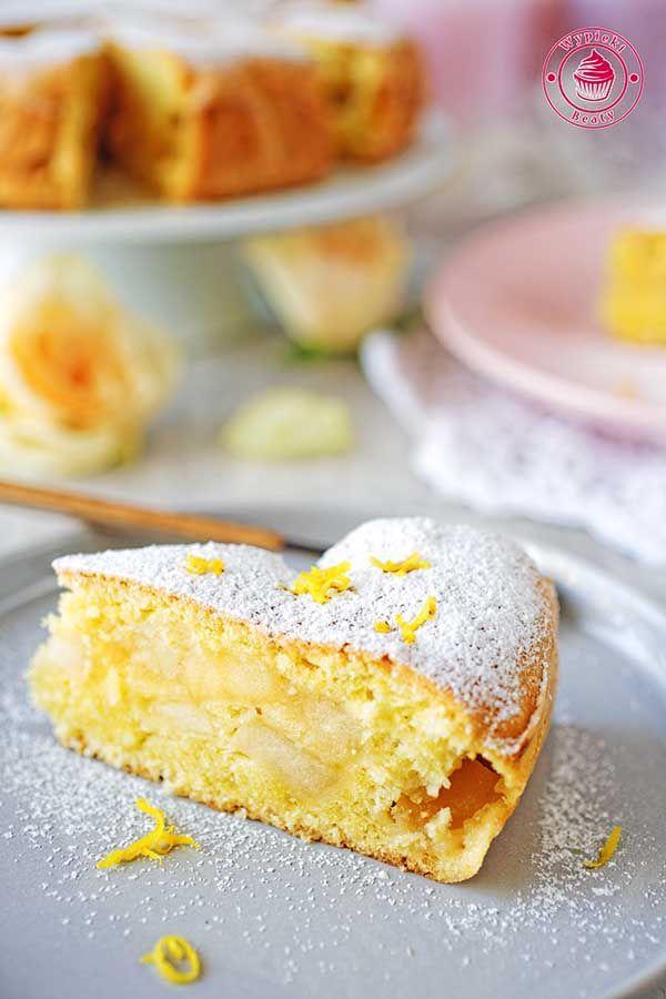 Simple apple cake - łatwe i szybkie ciasto z jabłkami