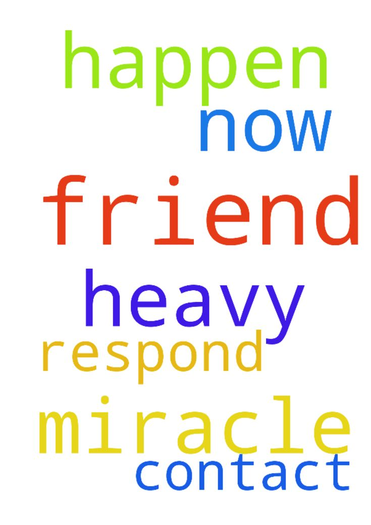 Prayers for a miracle to happen. I need heavy prayers - Prayers for a miracle to happen. I need heavy prayers for my friend to contact me now so we can be friends again. Please have him respond to me and for us to be friends now. Posted at: https://prayerrequest.com/t/R2H #pray #prayer #request #prayerrequest