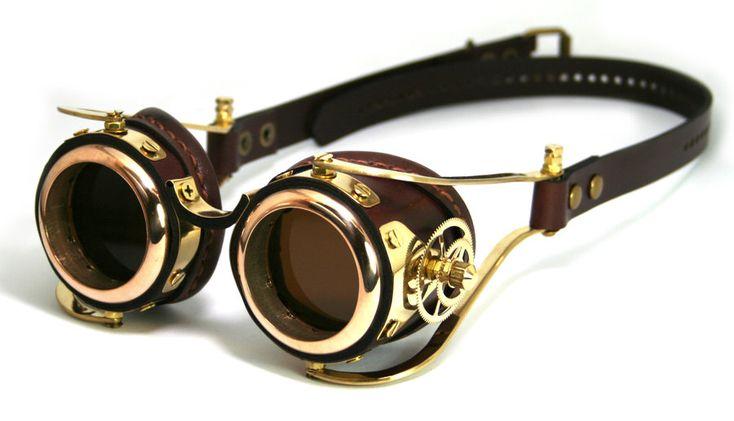 Steampunk Goggles number 2 by AmbassadorMann.deviantart.com on @deviantART