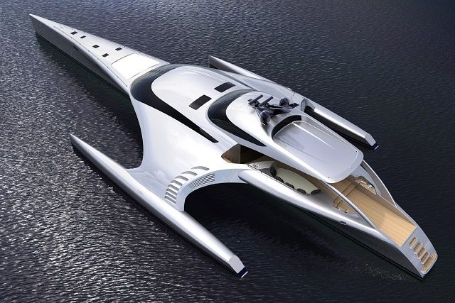 Metal, Glass, And iPad Controls: This Amazing Yacht Was Meant For Steve Jobs