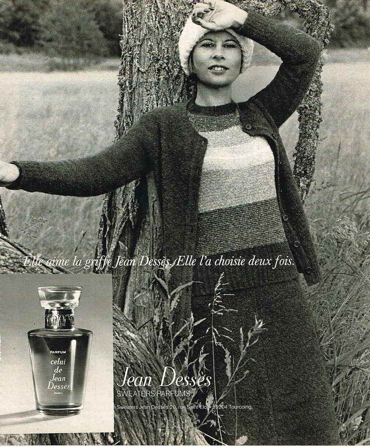Jean Desses Sweaters Parfums 1975