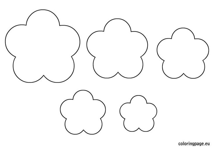 Flowers template printable
