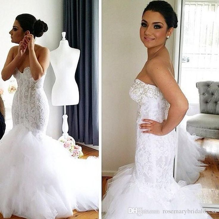 Affordable Wedding Dress Mermaid Style Lace Wedding Dresses 2016 Pearls  Soft Tulle White Ivory PlusBest 25  Crystal wedding dresses ideas on Pinterest   Lace wedding  . Ebay Cheap Wedding Dresses. Home Design Ideas