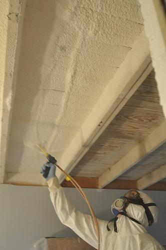 22 best spray foam insulation in attic images on pinterest for Alternatives to spray foam insulation