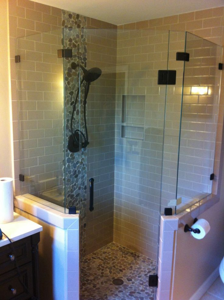 frameless neo angle shower enclosure  google search
