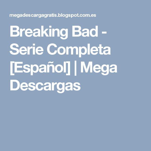 Breaking Bad - Serie Completa [Español] | Mega Descargas