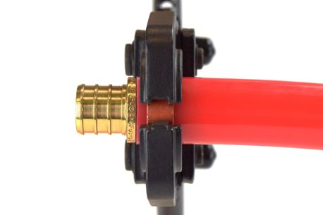 How to install PEX tubing. PEX Tubing Installation. Making a crimp connection.