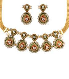 Buy Quail beautiful set of necklace necklace-set online