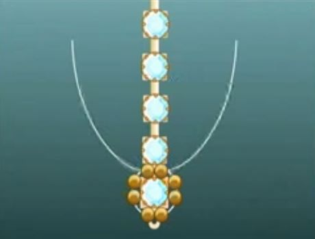 Crystal Cup Chain and Beadwork Jewelry Tutorials ~ The Beading Gem's Journal