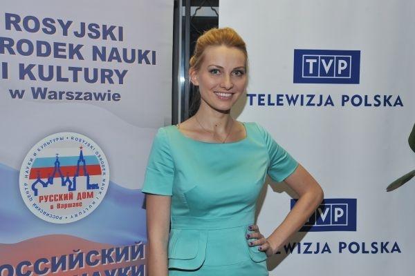 """Pokaz serialu """"Anna German"""". Gwiazdą wieczoru była, rzecz jasna, odtwórczyni tytułowej roli – Joanna Moro (fot. Jan Bogacz)"""