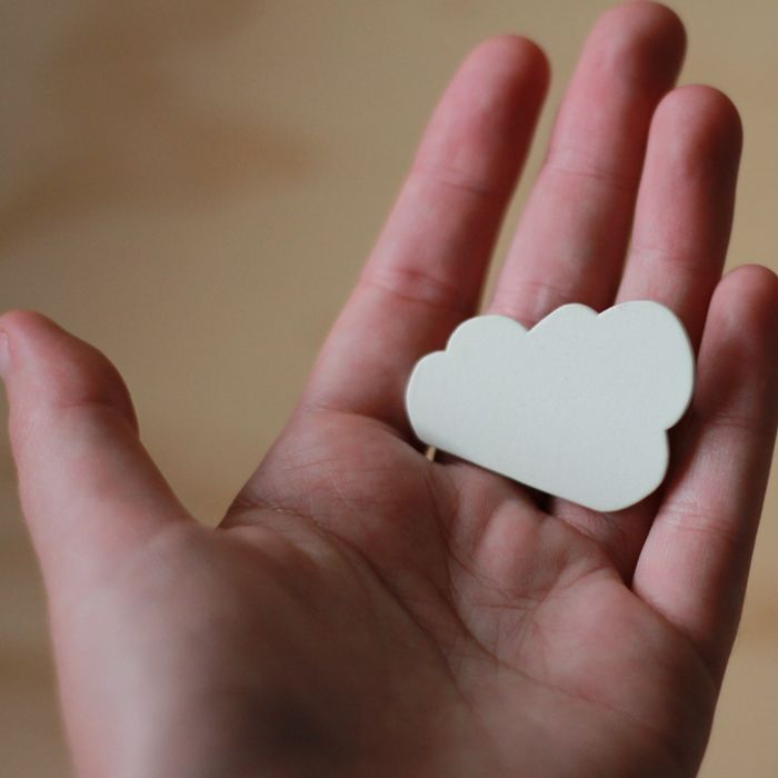 I make it — Cloud Brooch