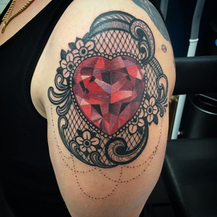 Sorry, victorian lace heart tattoos