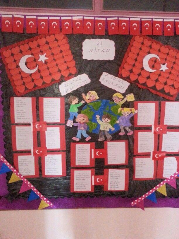 Bord, board, 23 nisan, festival, school