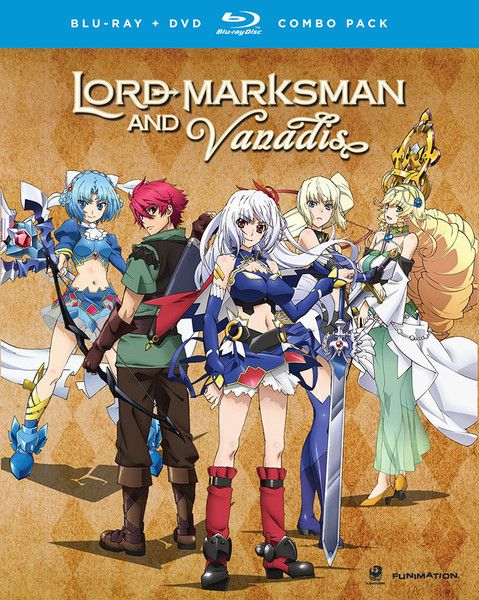 Lord Marksman and Vanadis Blu-ray/DVD