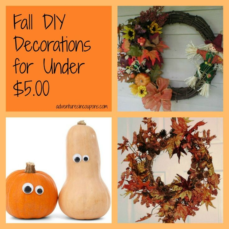 Awesome (and super kid friendly) Fall DIY Decorations for under $5.00!
