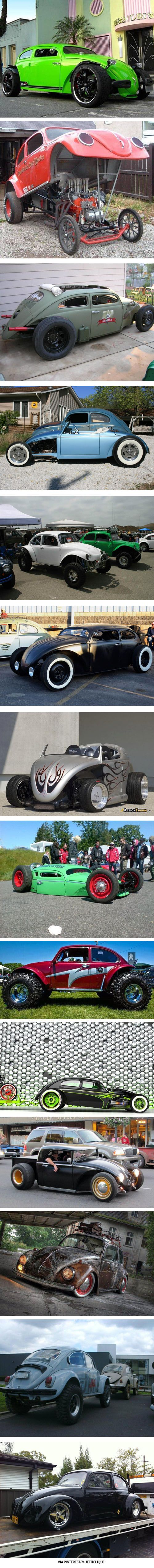 40 VW beetles too crazy