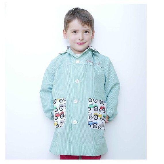 d9400f890 Bata escolar niño 2-7 años patrón de costura: por ColoursforBaby Batitas  Para Niñas
