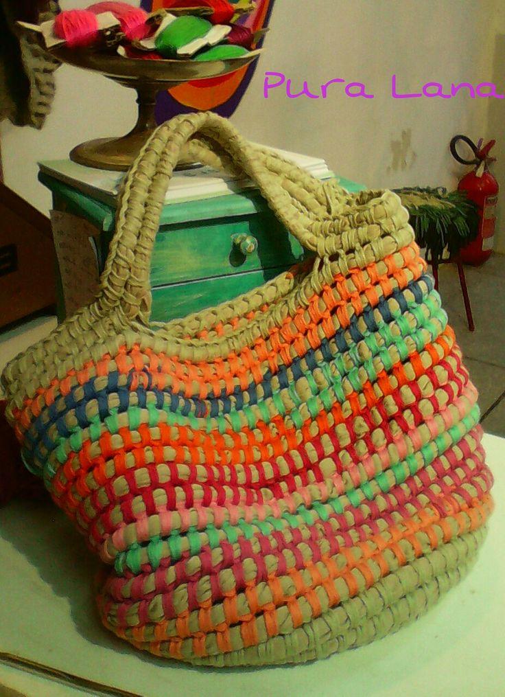 Bolsos tejidos crochet pinterest crochet tote and - Bolsos tejidos a crochet ...