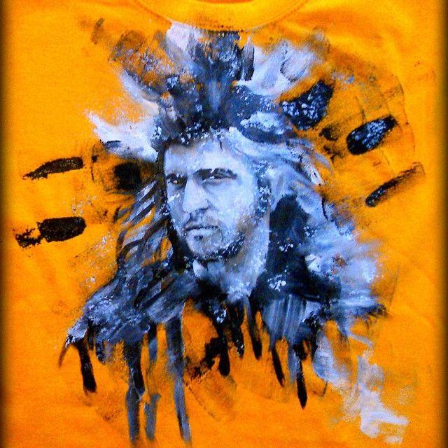 #madmax #melgibson #podkopulagromu #beyondthethunderdome #koszulka #shirt #handpainted #forkids #dziecko #rekodzielaeu