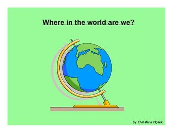I use this SMARTboard file to kick-off our map unit in my 3rd grade classroom. It's also appropriate for 2nd and 4th grade and also as a beginning...