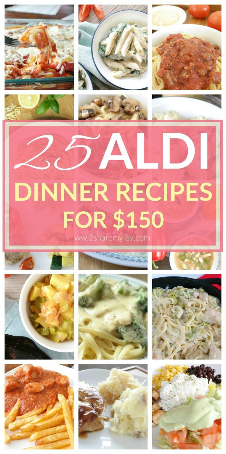 Different Food Recipes Dinner
