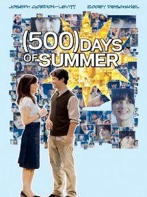 (500) Days Of Summer (2009) with Joseph Gordon-Levitt and Zooey Deschanel. (Image from Amazon)