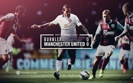 Barclays Premier League Match 3 : Burnley 0-0 MU 30 August 2014 - Turf Moor