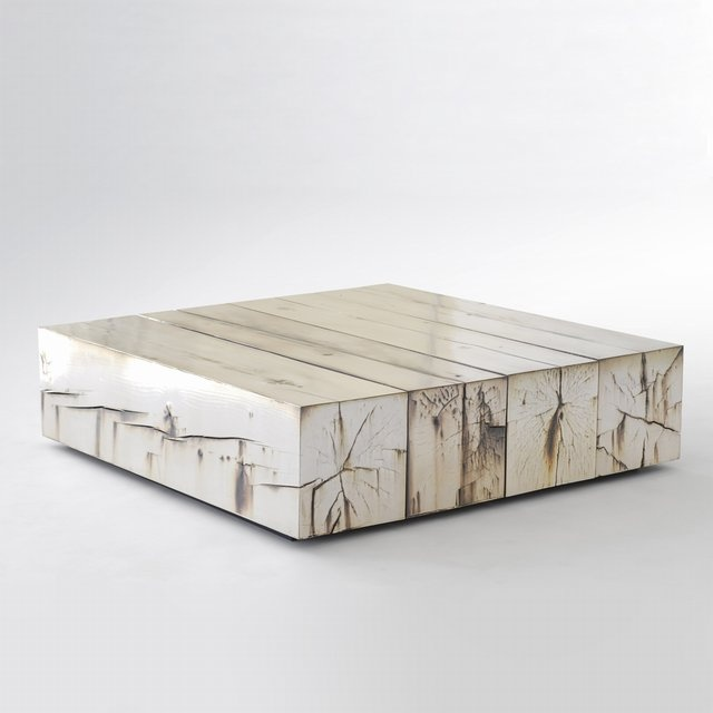 silver . wood . coffee . table: Decor, Interior, Idea, Periodic Table, Art, Furniture, Woods, Things Coffee Tables, Design