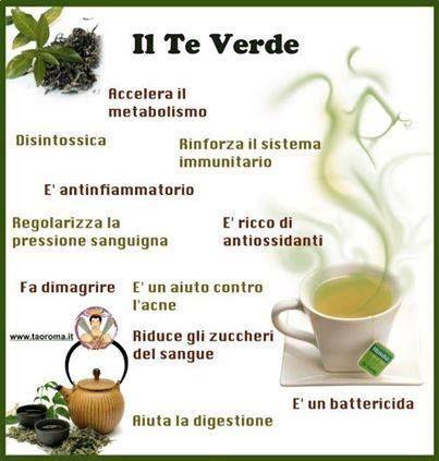 Il tè verde.....ho iniziato a bere the verde da qualche giorno ora continuerò sarà nel mio stile di vita mi trovo benissimo