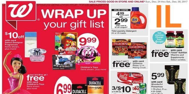 walgreens weekly ad illinois christmas day 1224 1230 2017 - Walgreens Christmas Day