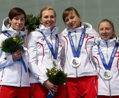 silver for Polish women