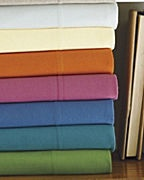 Garnet Hill jersey sheets - I've slept on them once (at a friend's house), and have been coveting them ever since...