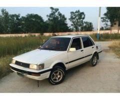 Toyota Corolla 1986 White Color New Tyre Original Documents Sale In Attock