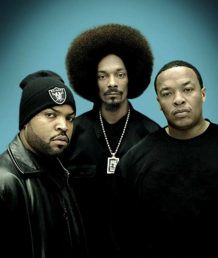 Ice Cube, Snoop Dogg, and Dr. Dre