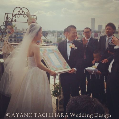 Koki & Yuki Wedding  by AYANO TACHIHARA Wedding Design