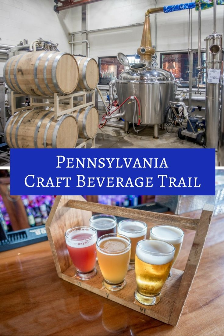 From distilleries and breweries to the best fried chicken you'll ever try, gorge yourself on the Central PA Tasting Trail in and around State College, Pennsylvania.