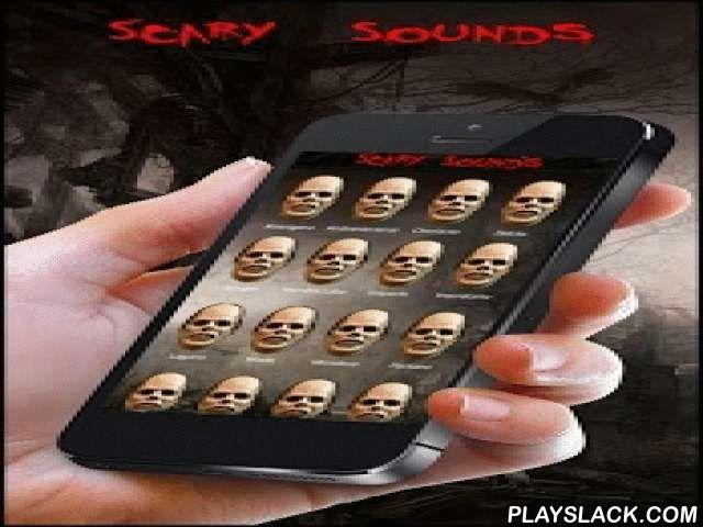 Sounds Of Terror And Fear FX  Android App - playslack.com ,  Sonidos, tonos y efectos terroríficos, tenebrosos, lúgubres, espeluznantes y tétricos, ideales para Halloween, asustar o dar miedo a alguien.Si te gustan las películas de terror, miedo, horror y suspense esta es tu aplicación, sube el volumen de tu móvil y prepárate y sobre todo no mires atrás....En la app encontraras sonidos de vampiros, zombies, hombres lobo, monstruos y demás seres de la noche. Geluiden, ringtones en…