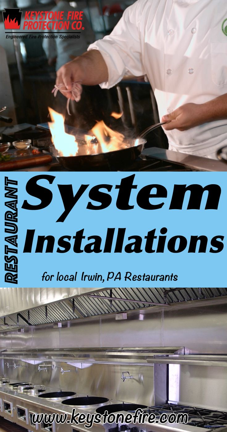 Restaurant System Installations Irwin (215) 641-0100.. Local Pennsylvania Restaurants you have found the complete source for Fire Protection. Fire Extinguishers, Restaurant System Service.. We're got you covered..