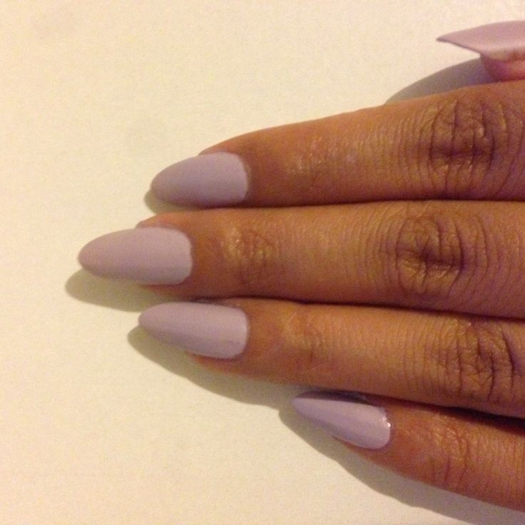 Simple and chic. Revlon Colorstay in Provence with matte top coat.