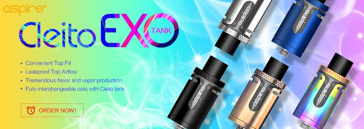 Aspire Cleito EXO Tank Atomizer Standard Version - 3.5ml