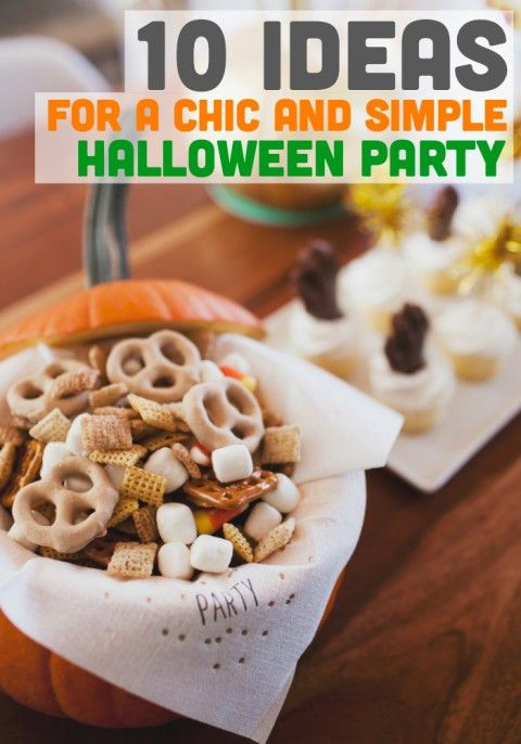 10 ideas for a halloween themed play date - Halloween Decorations Food