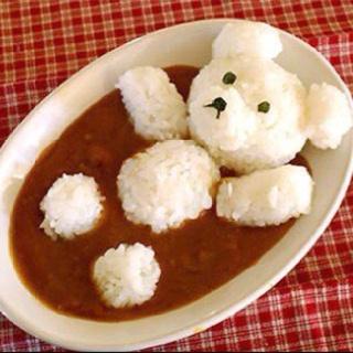 Japanese curry, cute!