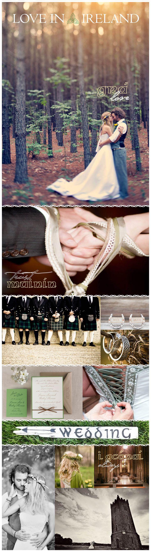 Di tutto un po', per il perfetto #matrimonio #celtico! #Irlanda #wedding