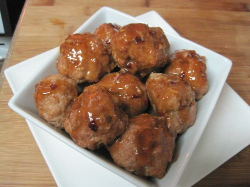 Savory meatballs in sticky Garlic Sesame sauce. This homemade restaurant inspired recipe is a family favorite and it's easy to make for dinner or to serve for a party.