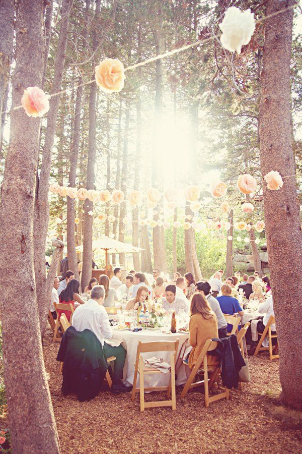 beautifull setting for a Wedding or Special Occasion party