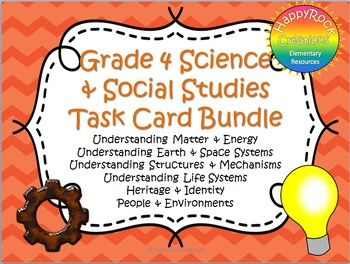 Looking for a great way to review or assess the grade 4 Ontario science and…