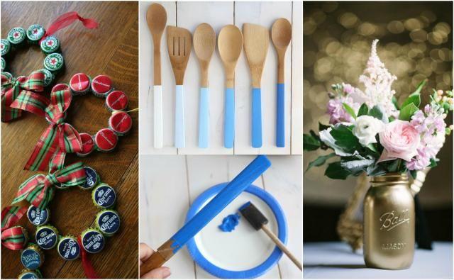 Te rzeczy zrobisz sama! Zobacz, jakie to proste! #dekoracje #dom #mieszkanie #diy